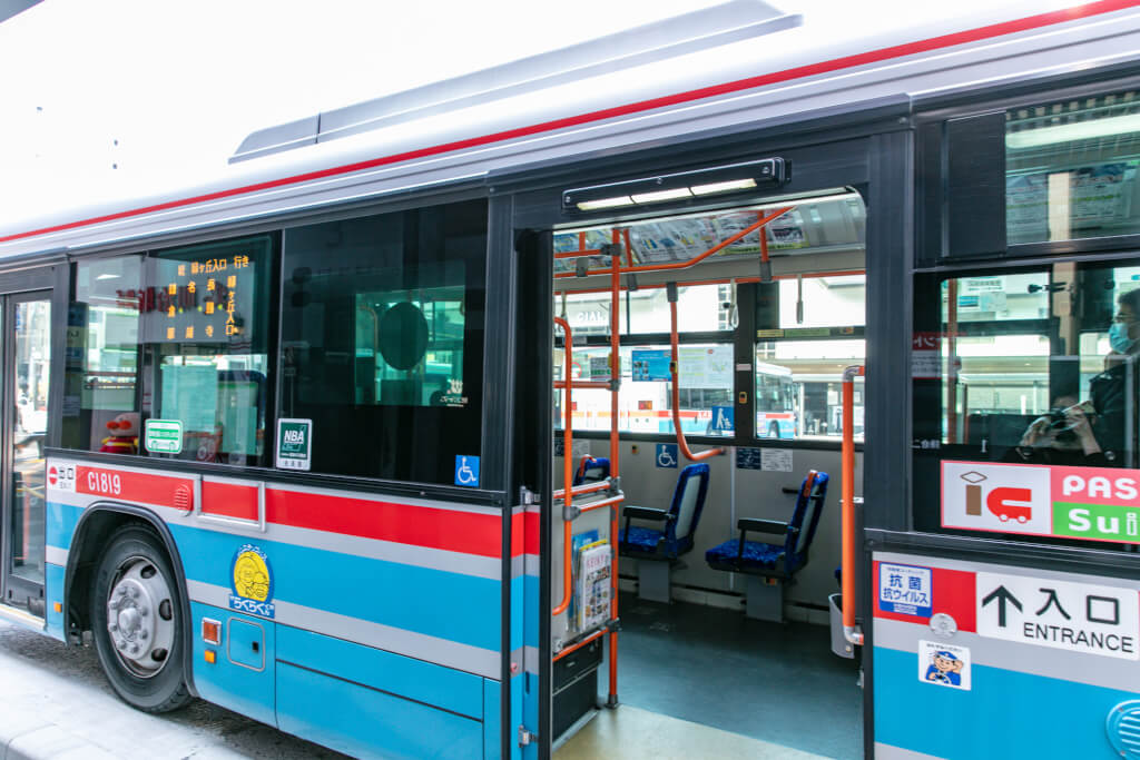 京急バスで長勝寺へ