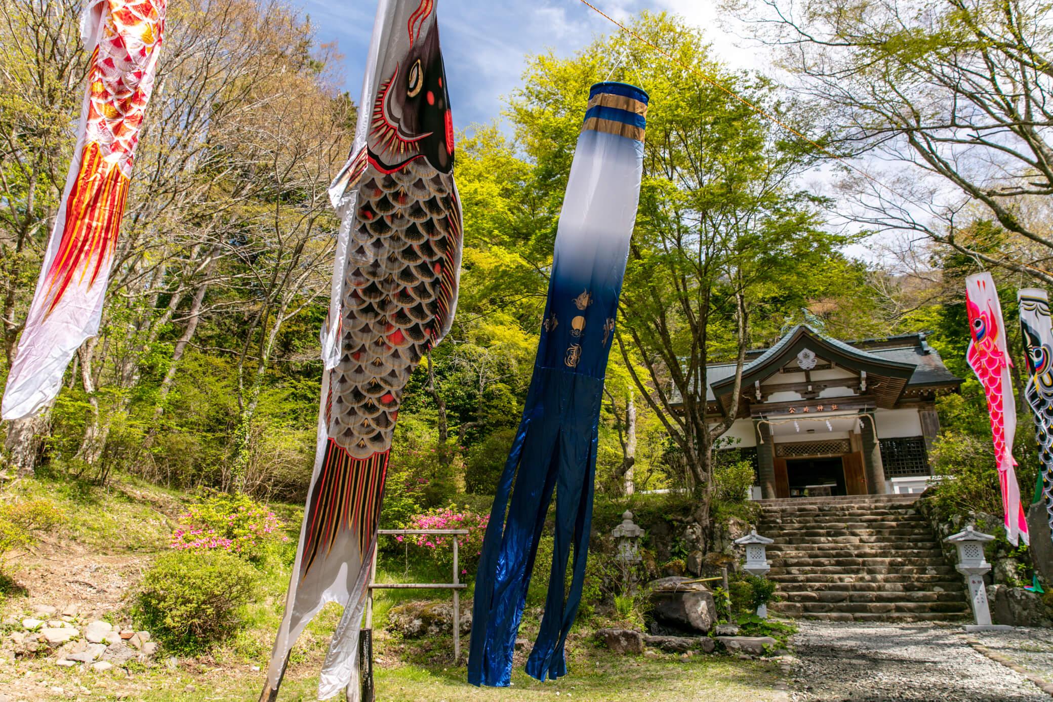金時山 公時神社