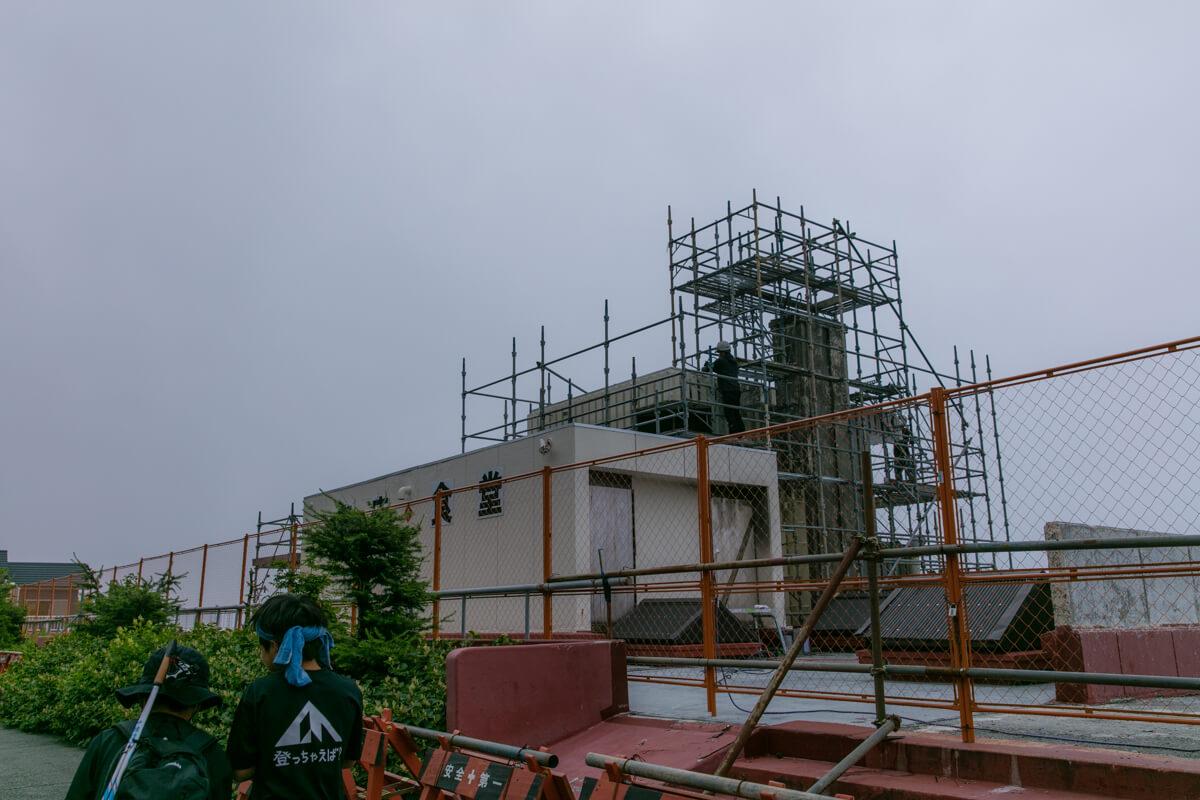 富士山富士宮口五合目 レストハウス