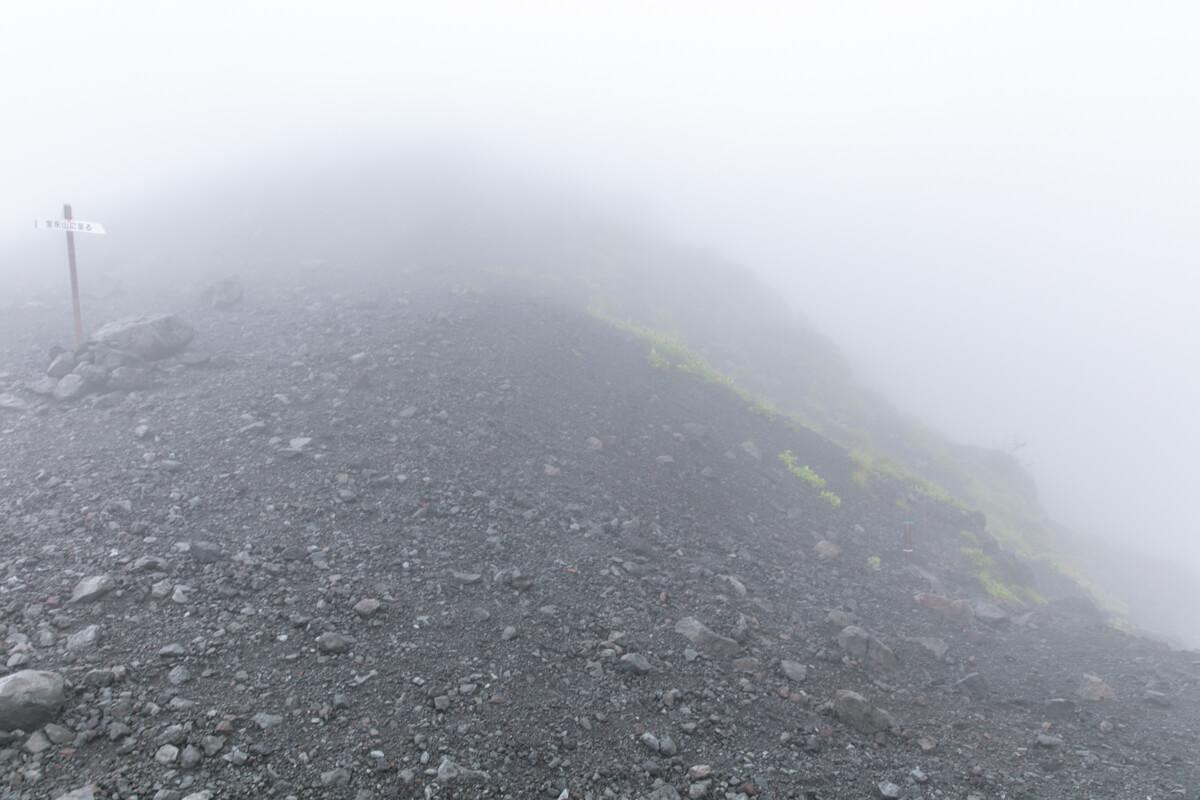 富士山 宝永山への道
