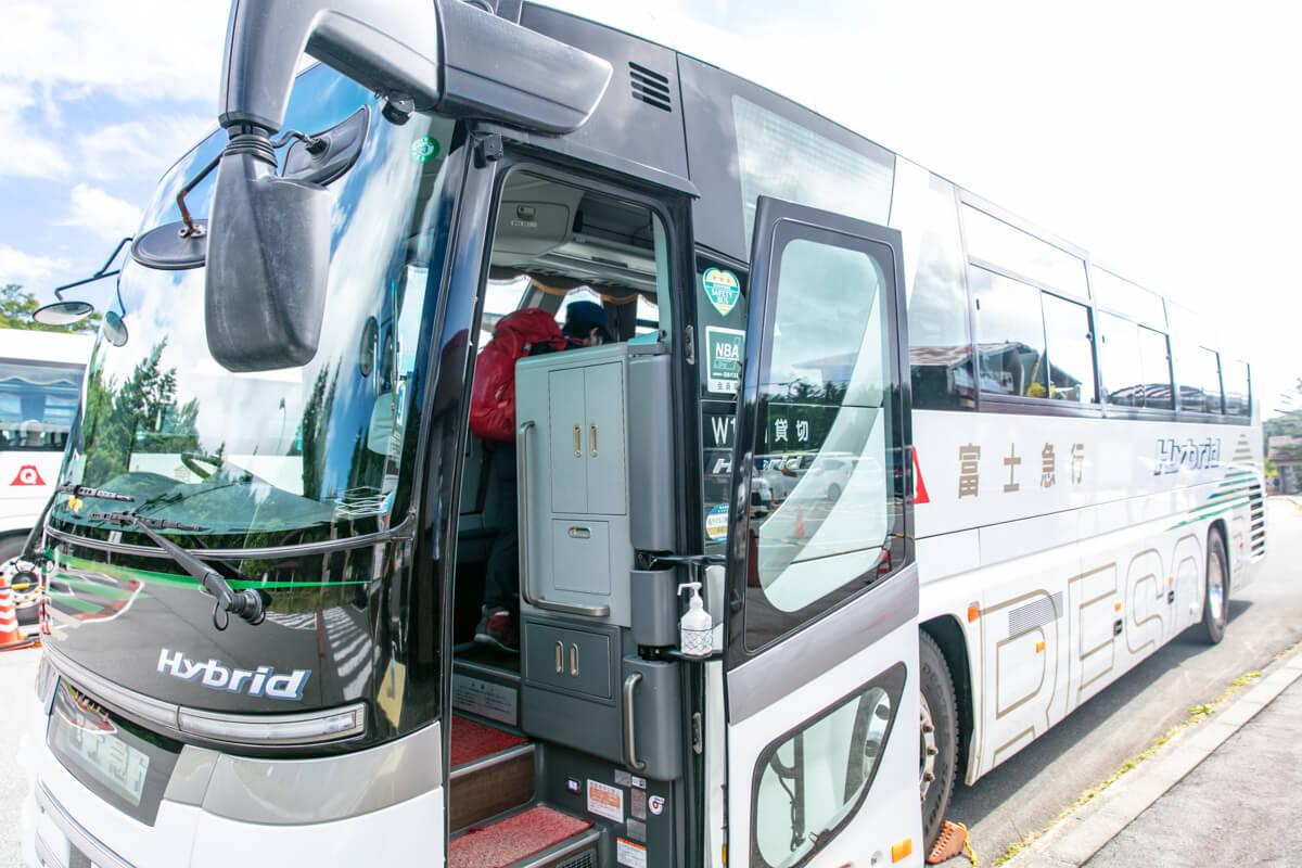 富士山 富士宮口 二合目 水ヶ塚公園 バス