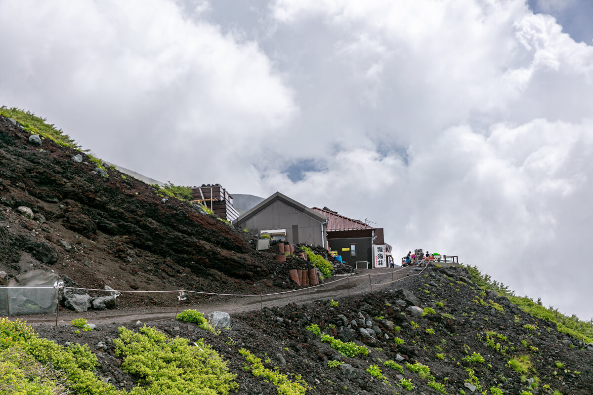 富士山富士宮口 六合目
