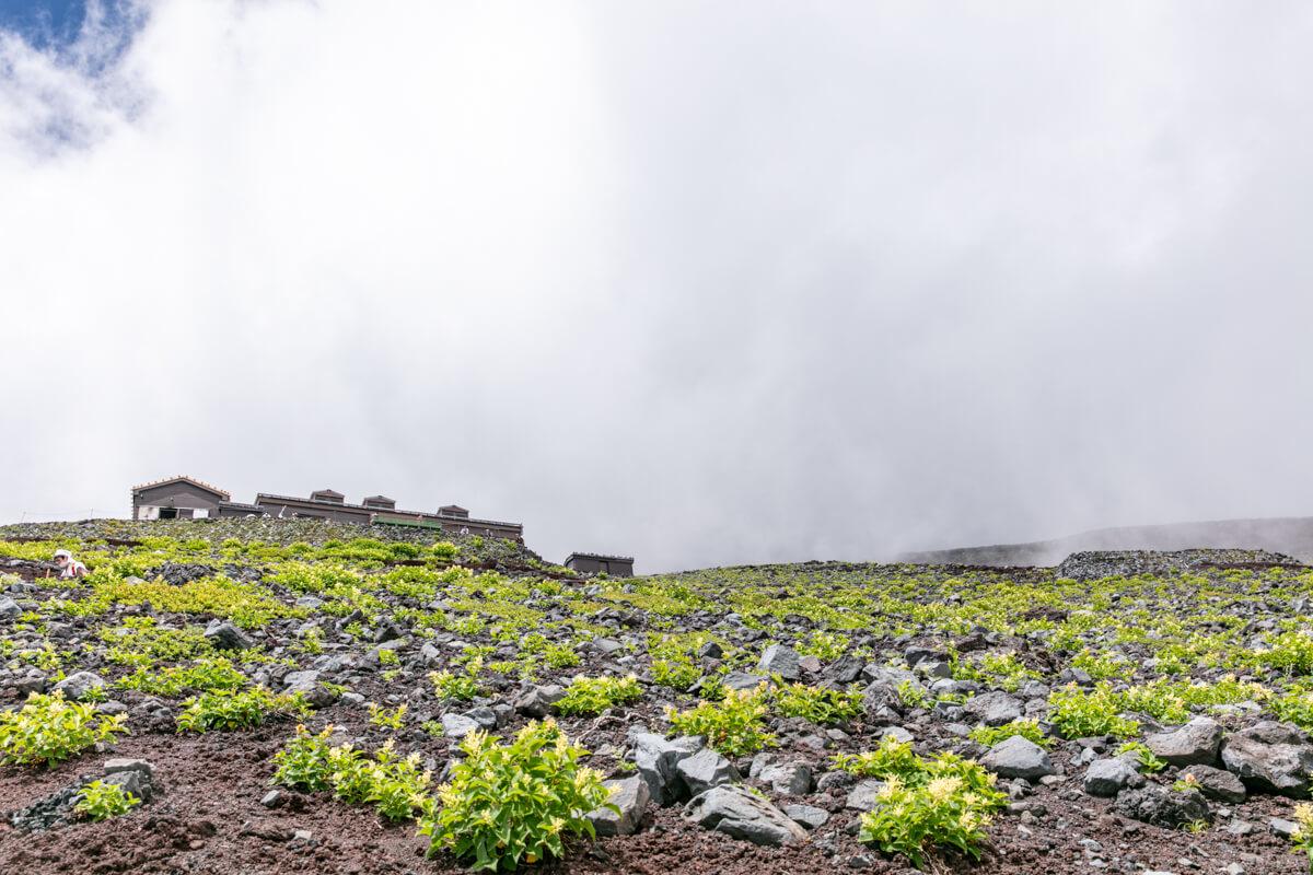 富士山富士宮口 新七合目 御来光山荘